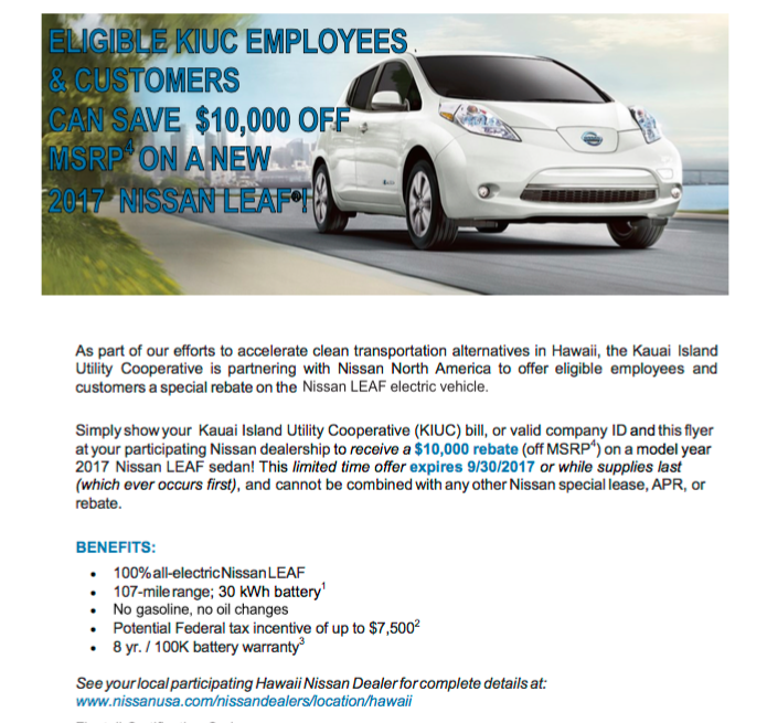 See Your Local Paring Hawaii Nissan Dealer For Complete Details At